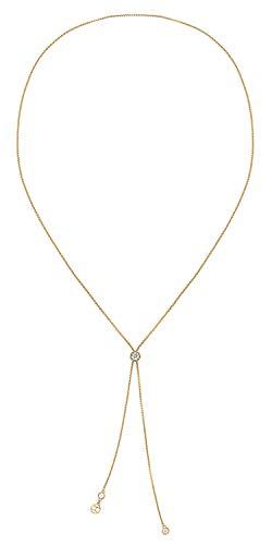 Tommy Hilfiger Jewelry Damesketting in Y-vorm, verguld