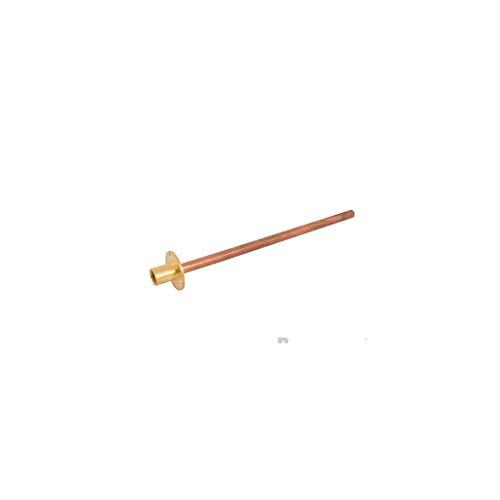 Plumbob 425843 Wallplate & Tube Wallplate and Tube, Brass/Copper