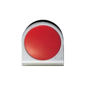 (業務用100セット) プラス カラーマグネット クリップ 小 赤 ds-1744733