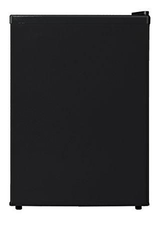 Midea WHS-87LB1 Refrigerator, 2.4 Cubic Feet, Black
