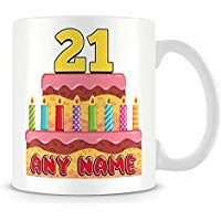 Kaffeebecher, personalisierbar, Keramik, 325 ml, Weiß