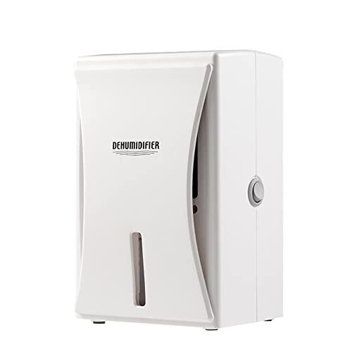 HBBOOI Mini deshumidificador para baño o Armario pequeño de 2800 pies cúbicos (200 pies Cuadrados), Capacidad de 600 ml / 20 oz, deshumidificador pequeño, portátil, silencioso, de Apagado automático,