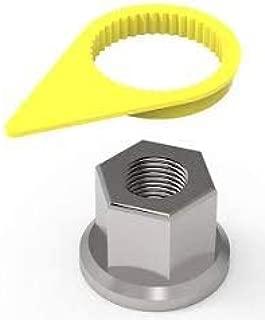wheel nut torque indicator