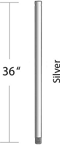 Minka-Aire DR536-SL, 36' Downrod, Argento