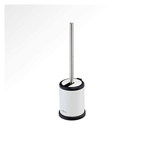 SYLOZ Limpiador Cepillos de Inodoro Conjunto de cepillos de Inodoro 360 Grados Limpieza de hogar Cuarto de hogar Acero Inoxidable Duradero Inodoro Creativo Aseo Limpieza Brocha Cepillo de Inodoro