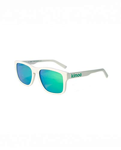 Kimoa - Sidney Gafas, Blanco, Normal Unisex Adulto