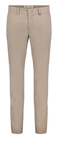 MAC Jeans Herren Lennox Straight Jeans, Braun (Toffee Brown Printed 255b), W34/L32 (Herstellergröße: 34/32)