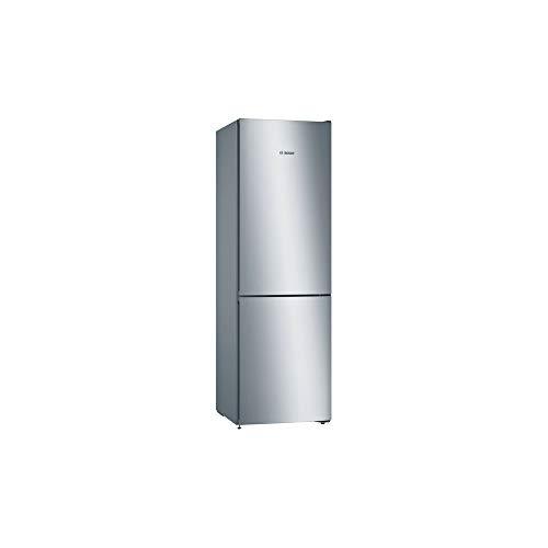 Bosch KGN36VLEC Serie 4 - Frigorífico combinado con posición libre, 326 L, 60 cm x 186 cm, acero inoxidable