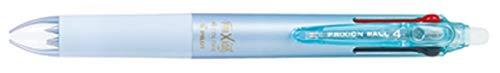 Pilot ゲルインキ 消せる4色ボールペン フリクションボール4 0.38 グラデーションライトブルー PLKFB80UF-GRLB