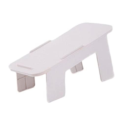 shengmo Caja de almacenamiento para zapatos y soporte ajustable y duradero, para ahorrar espacio, para armario, zapatero (color: color blanco)