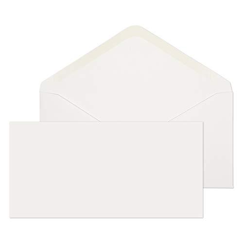 Blake DL 110 x 220 mm Bankier Uitnodiging Gummed Wit Enveloppen 100gsm (SP ENV2169) - Doos van 1000