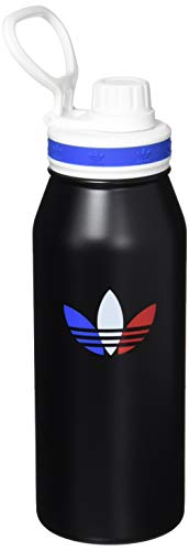 adidas 1 Liter (32 oz) Metal Water Bottle, Hot/Cold Double-Walled Insulated 18/8 Stainless Steel