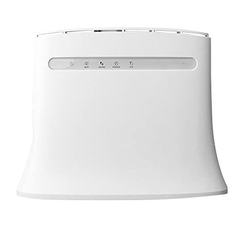 Vrttlkkfe MF283U 4G LTE Router WLAN sbloccato MF283 CPE Router 150 MBit WiFi Hotspot WLAN Gateway, Tipo B, spina EU