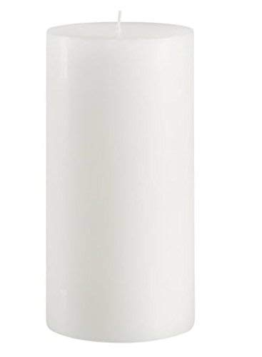 Mister Candle - 4 inch by 8 inch Tall Citronella Scented Pillar Candle - Indoor & Outdoor Use