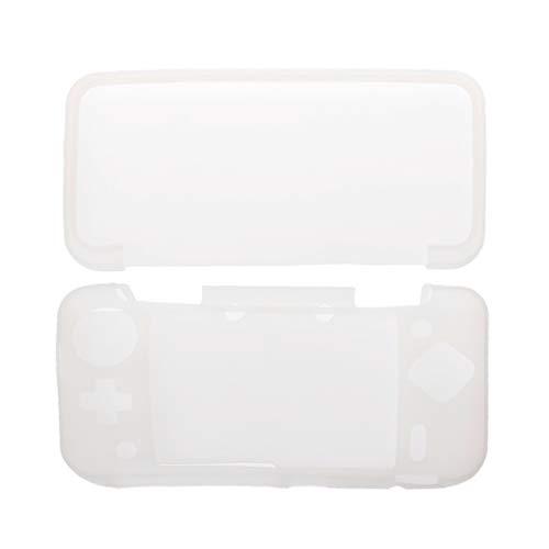 JENOR Coque de protection en silicone pour Nintendo Nintend 2DS XL LL 2DSXL 2DSLL Taille unique blanc
