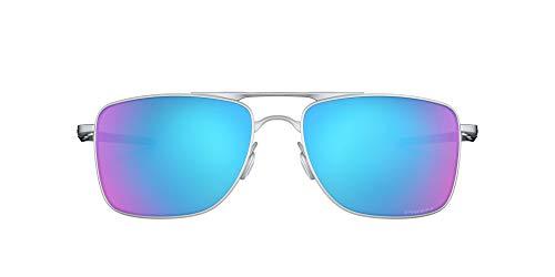 Oakley Unisex-Adult Gauge 8 Sunglasses, Matte Lead, 57