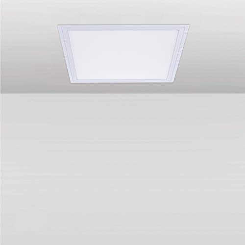 Yafido 24W LED Panel Cuadrado 30x30cm Downlight LED Techo Superficie 2050 Lumen 4000K Blanco Neutral ideal para salón, cocina, baño, dormitorio, oficina