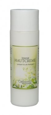 CELLAVITA Universal-Hautcreme 200ml | Sheabutter, Macadamianussöl, Mandelöl und dem