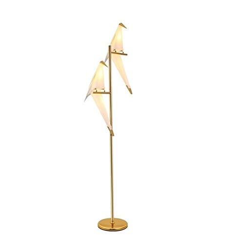 YSVSPRF Lámpara Escritorio Lámpara del Dormitorio Moderno Accesorios de iluminación de Noche Lámparas de Mesa decoración del Arte del pájaro LED luz Tabla Noche del Escritorio de pie Cama