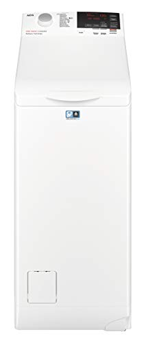 AEG L6TBG621 Lavatrici a Carica dall'Alto, 1200 Giri/min, 6 Kg, 56 dB, A+++, Bianco