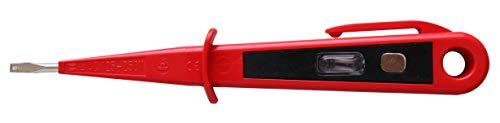 H+H Werkzeug 45300 Europrüfer/Spannungsprüfer/Phasenprüfer bis 250V GS geprüft nach VDE 0680 Made in Germany, 150 mm