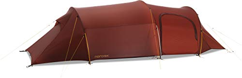 Nordisk Oppland 3 LW Tunnelzelt Zelt, Burnt Red