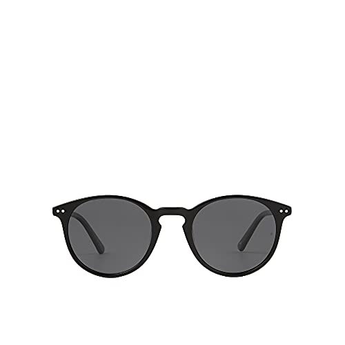 MO Gafas De Sol Polarizadas Sun Rx 189A D De Hombre Y Mujer. Gafas Redondas De Color Negro