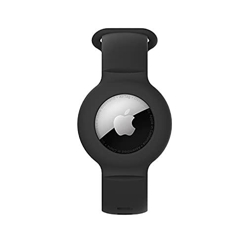 Airtags - Llavero de silicona antipérdida para Airtag, funda Bluetooth, accesorios de...