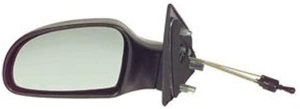 CITROEN BERLINGO 1996-/>2007 DOOR MIRROR GLASS SILVER HEATED /& BASE,LEFT SIDE