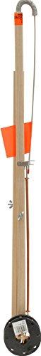 Hayabusa Heritage Deluxe Wood Tip-Up Drag Reel