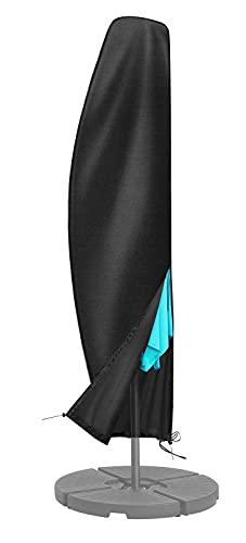 FRUITEAM Offset Umbrella Cover, Patio Umbrella Cover for 7ft to 11ft Cantilever Parasol Umbrellas...