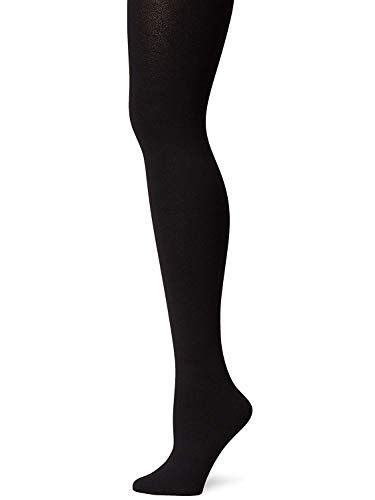 Berkshire Women's Plus-Size Cozy Tight with Fleece Lined Leg, Black, 3X-4X