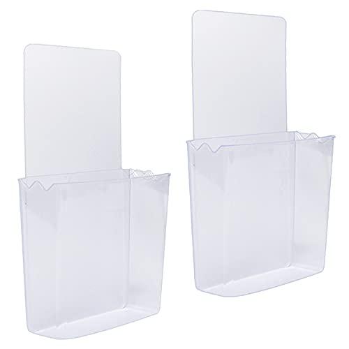ZC GEL - Soporte de Pared para teléfono móvil, Mando a Distancia, Transparente y Reutilizable
