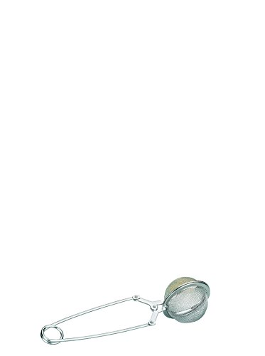 IBILI Teezange/Teesieb 4 cm aus Edelstahl, Silber, 4 x 4 x 10 cm
