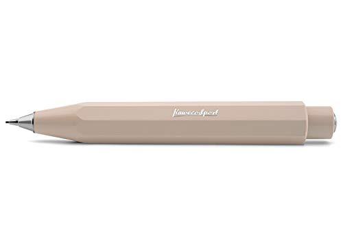 Kaweco Skyline Sport Macchiato Druckbleistift 0.7mm HB I Minenbleistift aus hochwertigem Kunststoff in oktogonalem Acht Kant Design I Druckminenbleistift 11 cm I 14 mm Ø Druck-Bleistift nachfüllbar