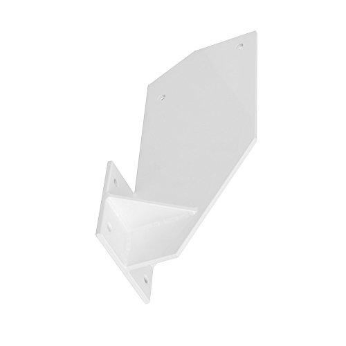 paramondo Dachsparrenhalterung für Kassettenmarkise Curve, weiß, 2er Set