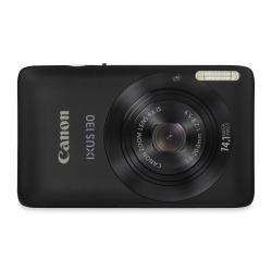 Canon IXUS 130 Digitalkamera (14 MP, 4-fach opt. Zoom, 6,9cm (2,7 Zoll) Bildschirm, HD Video, bildstabilisiert) schwarz