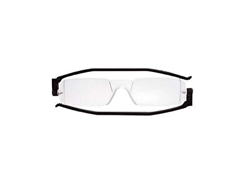 Gafas de Lectura Nannini compacto 1plegable gafas de lectura negro