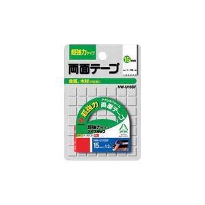 (まとめ) ニチバン ナイスタック(R) 超強力タイプ NW-U15SF 1巻入 【×5セット】 〈簡易梱包