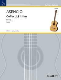 ASENCIO V. - Collectici Intim para Guitarra (Yepes)