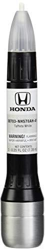 Honda Genuine 08703-NH578AH-A1 Taffeta White Touch-Up Paint Pen (.44 fl oz, Paint Code: NH578)