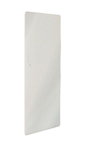 Lohema Design glazen radiator elektrisch Classic 1500W wit 1520x 600mm