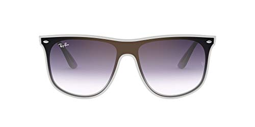 Ray-Ban 0RB4447N Gafas de sol, White Demi Shiny, 40 Unisex