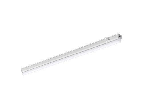 H/A Tubo de alimentación LED Barra de luz de 2 Generaciones Barra de Cocina Luz de 7 vatios bajo luz del gabinete 600 mm Blanco cálido CAXVYK