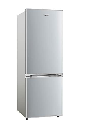 FrigeluX - Réfrigérateur Combiné RC167SE - Réfrigérateur Congélateur 2 Portes - 161L dont Congélateur 38L - Dégivrage Automatique - Pose Libre - Garantie 2 ans - Silver (161 L Inox)