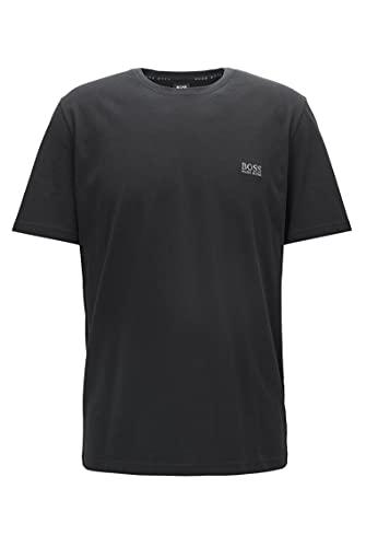 BOSS Mix & Match T-Shirt R Camiseta, Negro (Black 001), Large para...