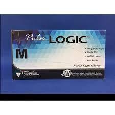 Innovative Health Care Pulse Logic Nitrile Exam Glove, Blue, X-Large 173350
