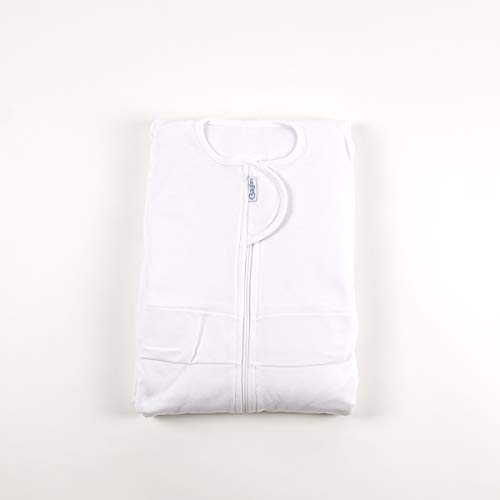 Sábana fantasma para cama 190cm largo x 90-110 cm de ancho (Blanco)