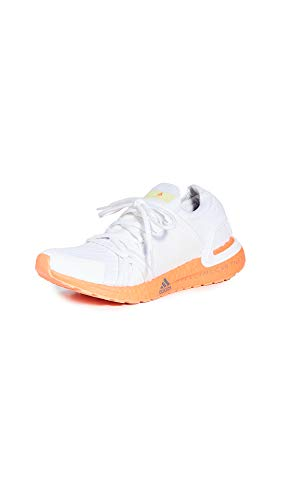 adidas by Stella McCartney Women's Ultraboost 20 S. Sneakers, Ftwwht/Ftwwht/Ftwwht, White, 5 Medium US