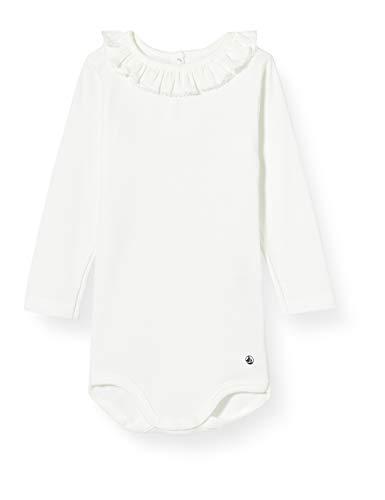 Petit Bateau Mädchen 5700401 Baby- und Kleinkind-Unterwäscheset, weiß, 12 Monate
